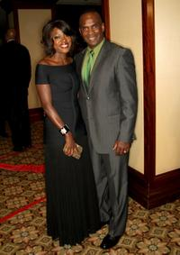 Viola Davis and Julius Tennon at the 61st Annual Directors Guild of America Awards.