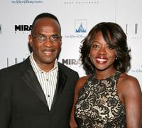 Julius Tennon and Viola Davis at the Disney and Miramax Oscar Nominees Celebration.