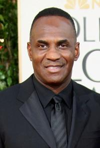 Julius Tennon at the 66th Annual Golden Globe Awards.