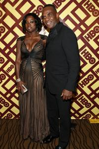 Viola Davis and Julius Tennon at the 66th Annual Golden Globe Awards.