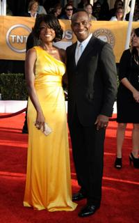 Viola Davis and Julius Tennon at the 15th Annual Screen Actors Guild Awards.