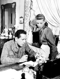 A File Photo of Humphrey Bogart and Lauren Bacall, Dated January 01, 1948.