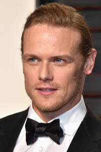 Sam Heughan at the 2017 Vanity Fair Oscar Party in Beverly Hills, CA.