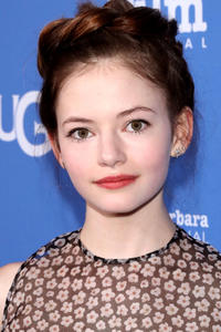Mackenzie Foy at the presentation of