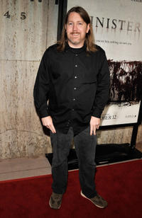 Screenwriter C. Robert Cargill at the California premiere of
