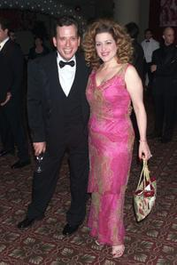 Billy Stritch and Mary Testa at the post opening party for the Broadway play