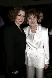 Mary Testa and Cyma Rubin at the