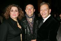 Mary Testa, Henry Stram and Michael John LaChiusa at the after party of