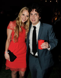Kirby Bliss Blanton and Oliver Cooper at the California premiere of