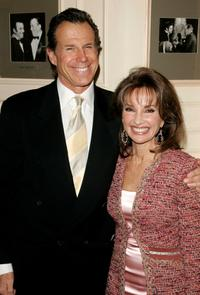 Bill Boggs and Susan Lucci at the Friars Club centennial luncheon series.