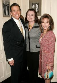 Bill Boggs, Randi Levine Miller and Susan Lucci at the Friars Club centennial luncheon series.