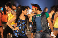 Parineeti Chopra as Dimple Chaddha and Ranveer Singh as Ricky Bahl in ``Ladies vs. Ricky Bahl.''