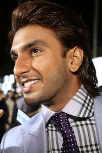 Ranveer Singh at the IIFA Awards in Tampa, Florida.