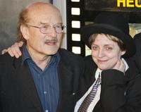 Director Volker Schloendorff and Katharina Thalbach at the German premiere of