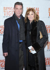 John Glover and Brynn Thayer at the opening night of