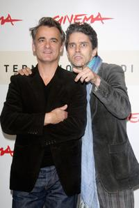 Laurent de Bartillat and James Thierree at the photocall of