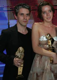 James Thierree and Sara Giraudeau at the 2007 Molieres theatre awards ceremony.