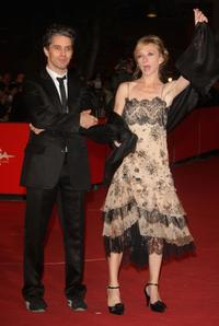 James Thierree and Sylvie Testud at the premiere of