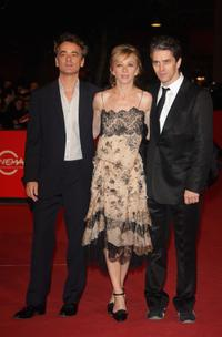 Laurent de Bartillat, Sylvie Testud and James Thierree at the premiere of