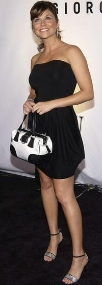 Tiffani-Amber Thiessen at the inaugural