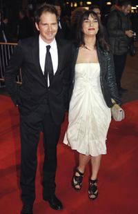 Christopher Thompson and Geraldine Pailhas at the 32nd Nuit des Cesar ceremony France top movie awards.