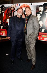 Jack Thompson and Bruce Beresford at the 2008 ARIA Fine Arts Awards.