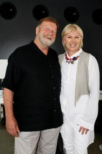 Jack Thompson and Deborah Lee Furness at the launch of
