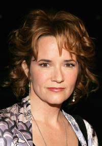 Lea Thompson at Hallmark Channel's TCA Press Tour party.