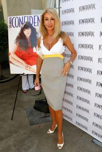 Linda Thompson at the celebration of Selma Blair's Los Angeles Confidential Magazine Cover.