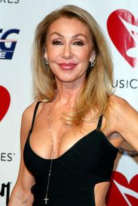 Linda Thompson at the 2008 MusiCares person of the year honoring Aretha Franklin.