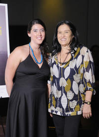 Alison Klayman and Barbara Kopple at the New York premiere of