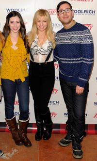 Lauren Anne Miller, Ari Graynor and director Jamie Travis at the Variety Studio during the day 2 of 2012 Sundance Film Festival.