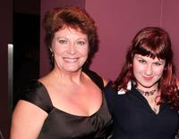 Shelley Thompson and Sarah Dunsworth at the premiere of