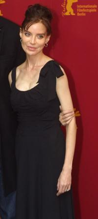 Anna Thomson at the Berlinale Film Festival.