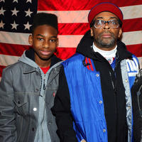 Jules Brown and director Spike Lee at the portrait session of