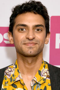 Karan Soni in the green room during the 2020 Winter Television Critics Association Press Tour in Pasadena, California.