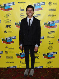 Karan Soni at the premiere of