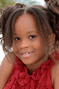 Quvenzhane Wallis at the photocall of