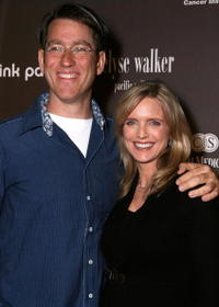 Roger Fishman and Courtney Thorne-Smith at the Pink Party To Benefit Cedar-Sinai Women's Cancer Research Institute.
