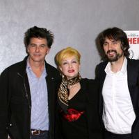 David Thornton, Cyndi Lauper and Darko Lungulov at the premiere of