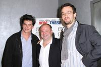 David Thornton, Frank Calo and George Lekovic at the premiere of