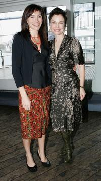 Sigrid Thornton and Claudia Karvan at the L'Oreal Paris 2005 AFI Awards Nomination announcement.