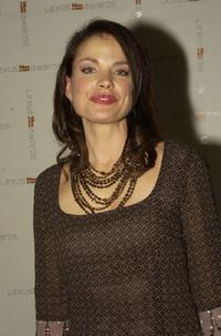 Sigrid Thornton at the 2003 LEXUS IF (Inside Film) Awards.