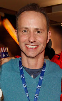Brian Boitano at the USA House during the US Olympians.