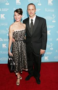 Renee Roca and Brian Boitano at the 34th Annual Daytime Creative Arts & Entertainment Emmy Awards.