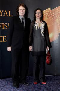 David Threlfall and Guest at the RTS Programme Awards 2009.