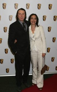David Threlfall and his wife Brenna at the British Academy Television Craft Awards.