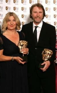 Victoria Wood and David Threlfall at the British Academy Television Awards.