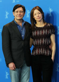 Pierre Bokma and Jenny Schily at the photocall of