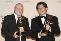 Ken Horn and Pierre Bokma at the 35th Annual International Emmy Awards.